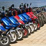 Huur-a-fiets Stock Fotografie