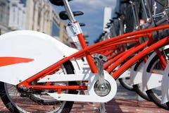 Huur-a-fiets Stock Afbeelding