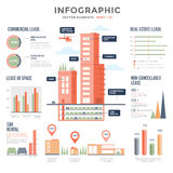 huur Infographics stock illustratie
