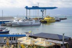Huur van motorjachten Royalty-vrije Stock Foto