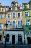 """Huurkazernes, PoznaÅ """", Polen Royalty-vrije Stock Fotografie"""