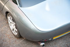 Huv av den TVR Tuscan sportbilen Royaltyfria Bilder