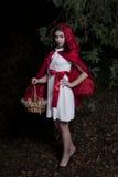 huv little röd ridning Royaltyfri Foto