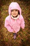 huv little rosa ridning Arkivfoto