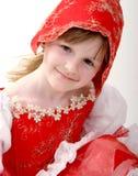huv little som är röd Royaltyfri Fotografi