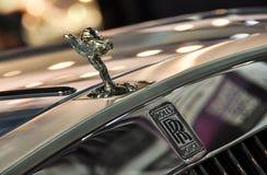 huvprydnad Rolls Royce Royaltyfri Bild