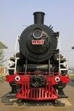 Huvud av ångalokomotivet Arkivbild
