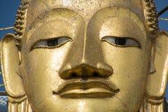 Huvud av den stora Buddha i Bangkok Arkivbild