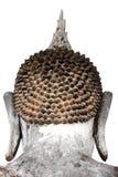 Huvud av den stora buddha statyn Royaltyfri Bild