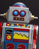 Huvud av en robot Royaltyfri Fotografi