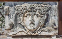 Huvud av Gorgon Medusa Arkivbild