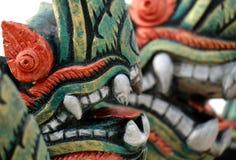 Huvud av ormen arkivbilder