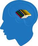 Huvud för läs- man stock illustrationer