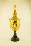 Huvud för tappningRamayana docka Royaltyfria Bilder