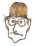Huvud för restmetall Royaltyfri Foto