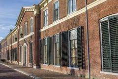 Huvudbyggnad av det tidigare universitetet av Franeker Royaltyfria Foton
