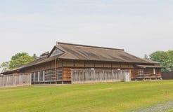 Huvudbyggnad av Ne-slotten i Hachinohe, Japan Royaltyfri Foto