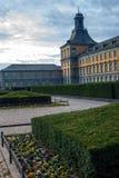 Huvudbyggnad av universitetet i Bonn Fotografering för Bildbyråer