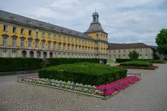 Huvudbyggnad av universitetet i Bonn, Tyskland Royaltyfri Bild