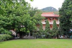 Huvudbyggnaden av det minnan buddistiska institutet för södra fujian buddistisk högskola Arkivfoton