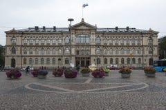 Huvudbyggnaduniversitet Helsingfors Arkivfoton