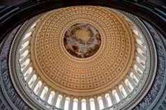 huvudD kupol washington för c Royaltyfri Bild
