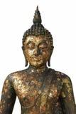 huvuddelbuddha half staty Royaltyfria Bilder