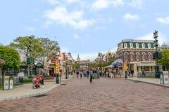Huvudgata Disneyland arkivbilder