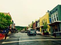 Huvudgata Park City, Utah Royaltyfri Fotografi