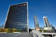 Huvudkontoret av Swedbank, Vilnius Royaltyfria Foton