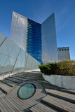 Huvudkontoret av Swedbank, Vilnius Arkivbild