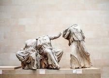 Huvudlös grekisk skulptur i British Museum Royaltyfri Fotografi