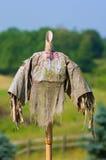 huvudlös scarecrow royaltyfria foton