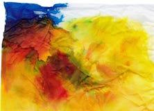huvudnedfläckadt silkespapper Arkivbilder