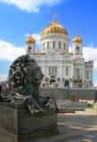 huvudrussia tempel till Fotografering för Bildbyråer