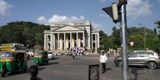 Huvudsaklig cirkel för Bangalore stadshus arkivbilder