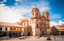 Huvudsaklig domkyrka av Cuzco Royaltyfri Bild