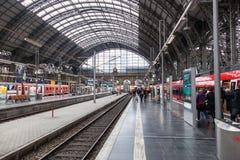 Huvudsaklig drevstation i den Frankfurt strömförsörjningen Royaltyfri Bild