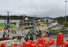 Huvudsaklig etapp för Dalat blommafestival Arkivfoto