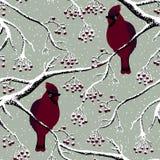 Huvudsaklig fågel på träd stock illustrationer