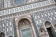 Santa Maria Novella; Kyrka; Florence Arkivbilder