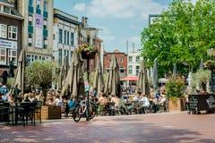Huvudsaklig fyrkant av Eindhoven Fotografering för Bildbyråer
