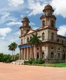 Huvudsaklig fyrkant i Managua royaltyfria foton
