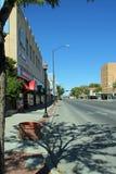 Huvudsaklig gata av Roswell New Mexico Royaltyfria Foton