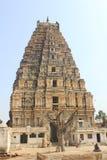 Huvudsaklig ingång för Virupaksha tempel, Hampi, Indien Royaltyfri Foto