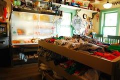 Huvudsaklig ny sjömarknad - ärmlös tröja Royaltyfri Fotografi