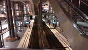 Huvudsaklig station Berlin Royaltyfria Foton