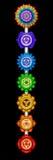 Huvudsakliga Chakras Royaltyfri Bild