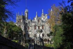 Huvudsakligt hus av Quinta da Regaleira Royaltyfri Bild