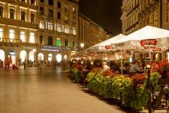Huvudsakligt kvadrera av Krakow Royaltyfri Bild